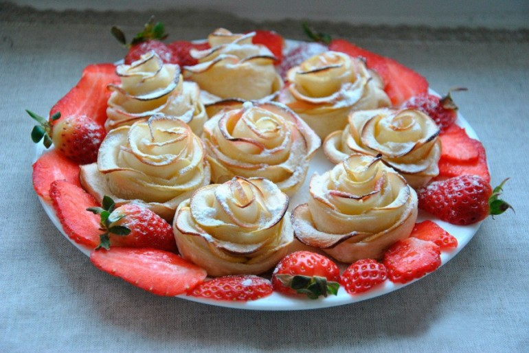 Ruže od jabuka – fantastičan desert!