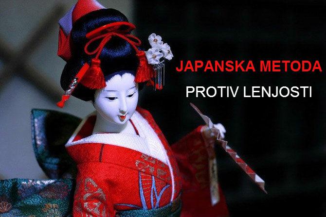 Japanska metoda protiv lenjosti, ili princip 1 minuta.