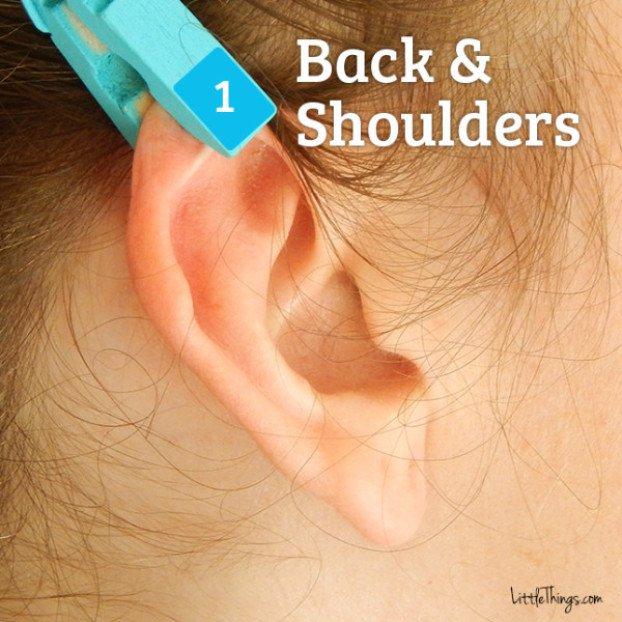 Kako se rešiti bola uz pomoć štipaljke