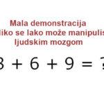 Najkraći matematički test.