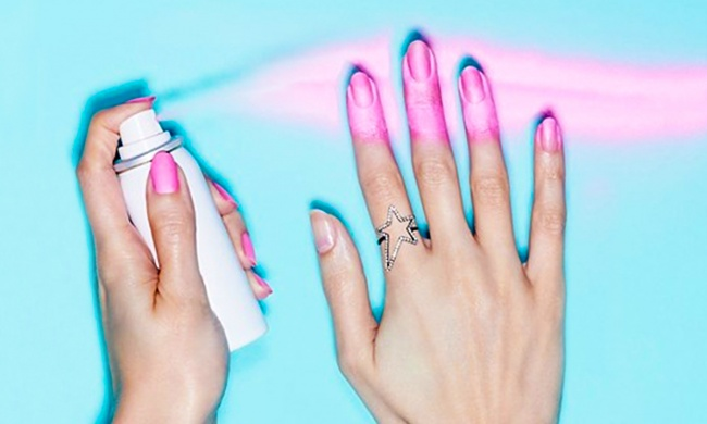 Manikir budućnosti već postoji: sprej za one koji ne vole lakiranje noktiju.