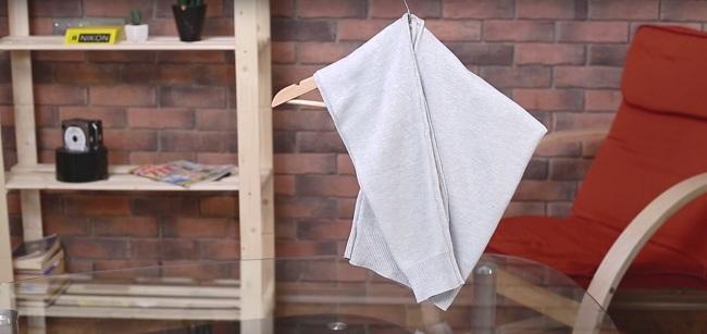 Kako okačiti džemper da se ne bi on rastegao