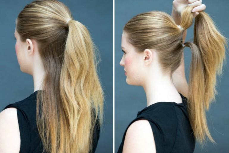 8 jednostavnih frizura za dugu kosu za manje od 60 sekundi