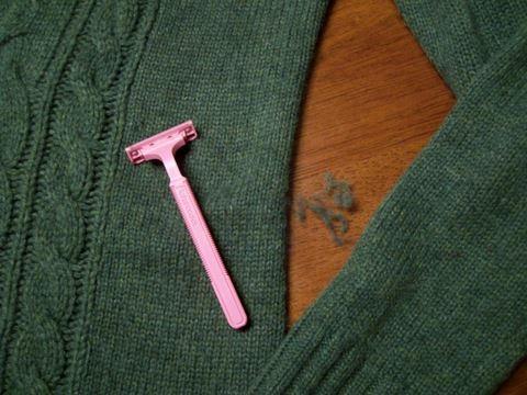 skinite grudvice brijačem
