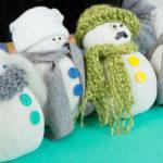 Sneško Belić od čarape: Napravite same deo zimske čarolije.