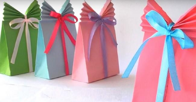 Kako napraviti kutiju za poklon.