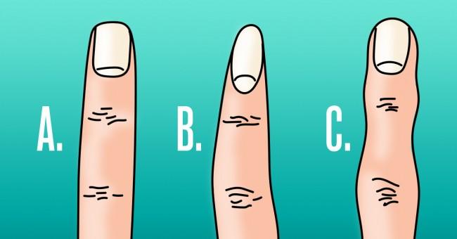 šta o vama govore oblik prstiju