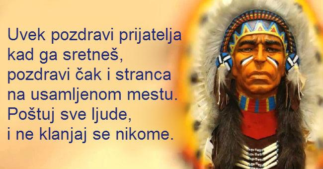 Mudrosti indijanskog naroda