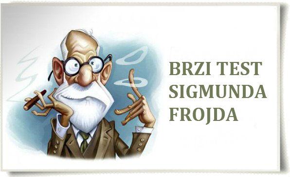 Psihološki test Sigmunda Frojda. Proverite sebe!