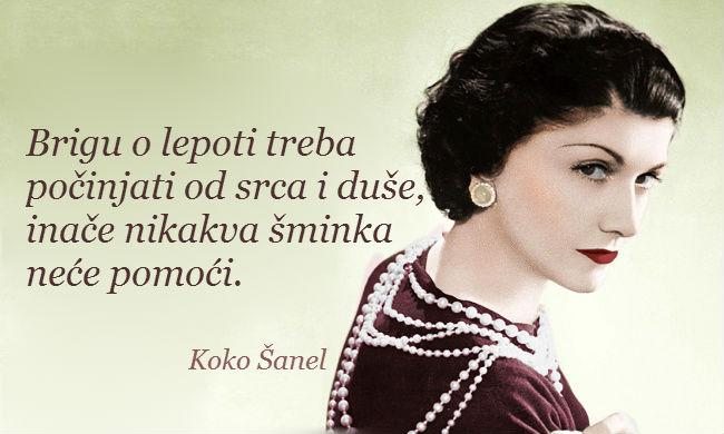 20 saveta - Koko Šanel