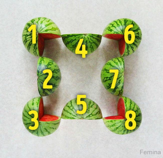 Koliko je ovde lubenica?
