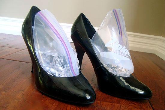 Kako proširiti tesne cipele