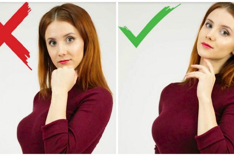 Kako dobro ispasti na slikama: 6 jednostavnih koraka.