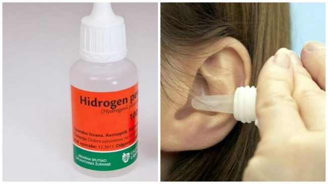 Kako isprati zapušene uši.