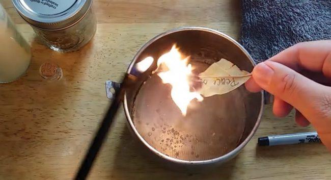 Evo šta će se desiti ako u svom domu zapalite lovorov list.