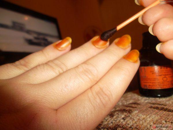 Kako koristiti povidon jod za nokte: