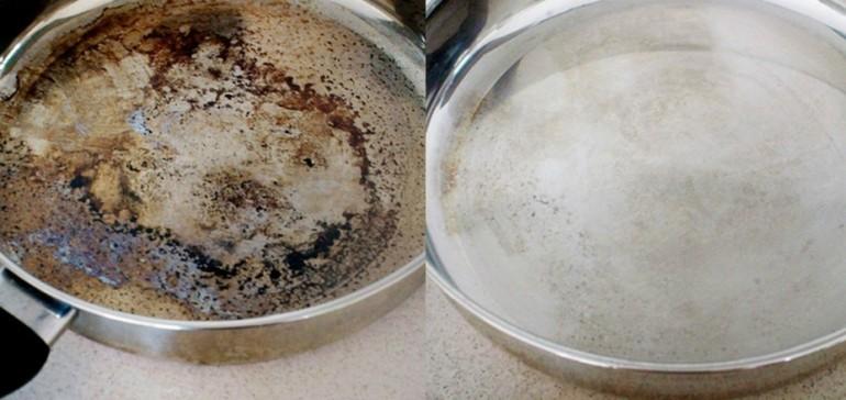 Pasta za čišćenje zagorele masnoće sa sudova.