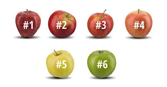 Izaberite jabuku koju biste pojeli i saznajte šta znači vaš izbor.