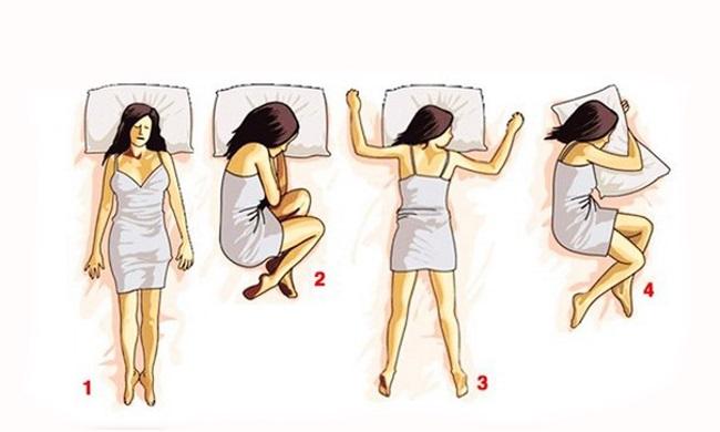 Åta poza u kojoj spavate govori o vama