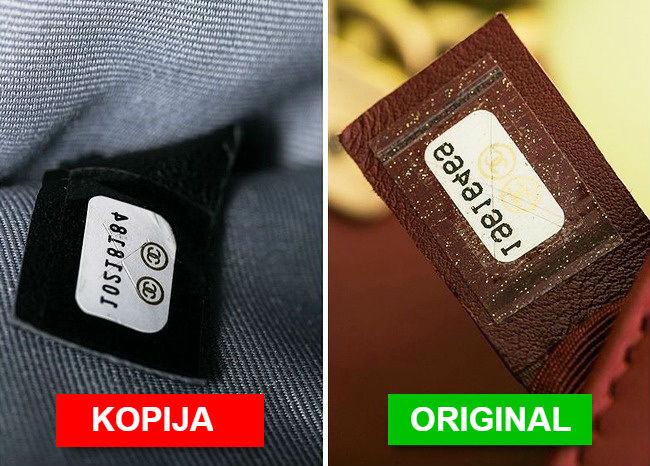 5 načina kako raspoznati pravu brendiranu tašnu od falsifikata.