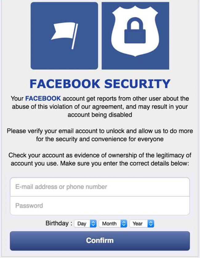 Policija upozorava korisnike Fejsbuka.