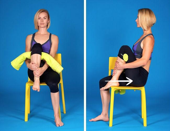 Jednostavan način uklanjanja bola u kolenu.
