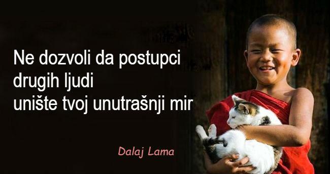 15 životnih lekcija Dalaj Lame