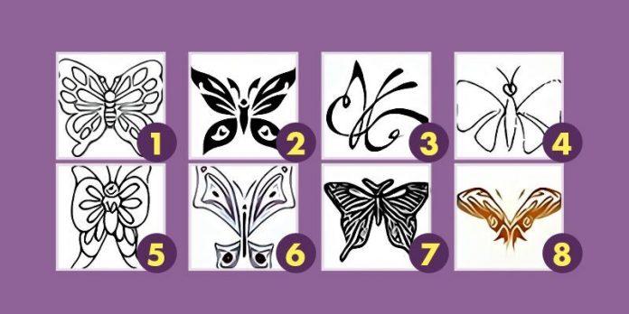 Izaberite leptira i saznajte više o sebi.