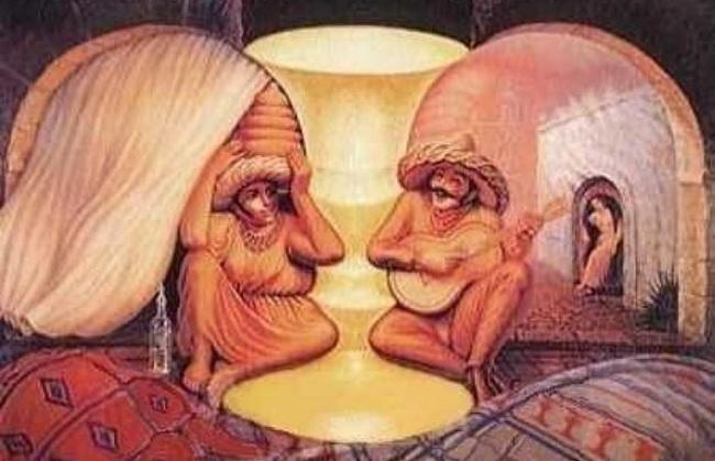 Šta ste prvo ugledali na ovoj slici?