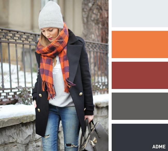 15 kombinacija boja za kape i šalove.
