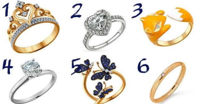 Izaberite prsten i upoznajte sebe!