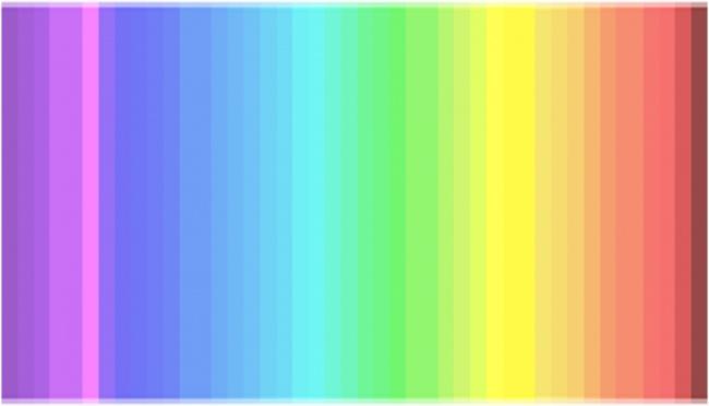 Samo 25% ljudi na svetu može da vidi sve nijanse ovog spektra
