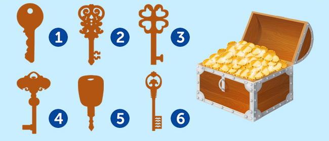 Test: Odaberite ključ