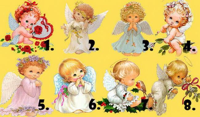 Izaberite anđela i saznajte šta vas očekuje.
