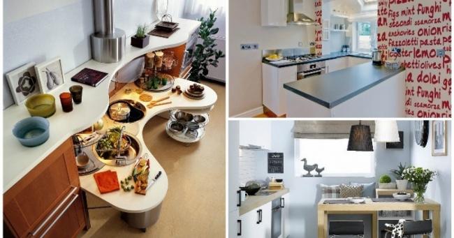 20 ideja za malu kuhinju koje inspirišu na smele eksperimente.
