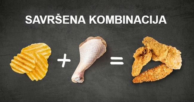 Najhrskavija pohovana piletina koju ste ikad probali