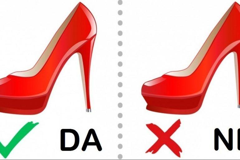 Kako odabrati savršene cipele: 12 korisnih saveta.