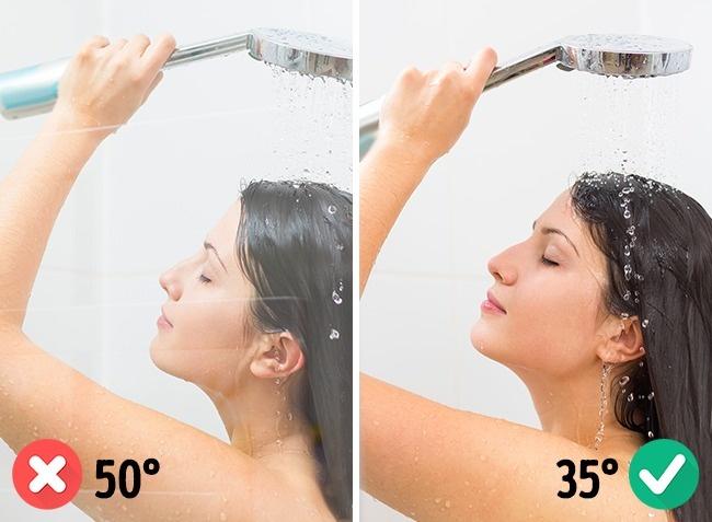 Tuširanje vrelom vodom nije zdravo za kožu