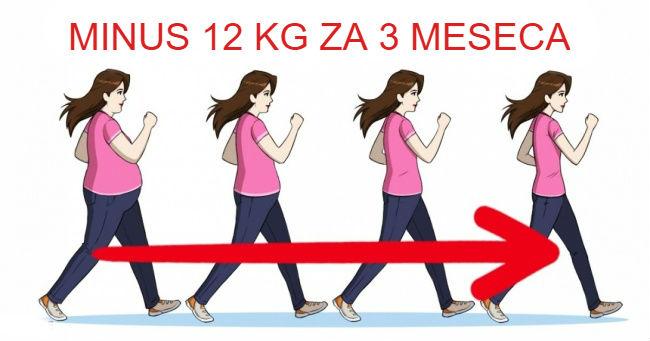 Koliko treba šetati svaki dan da biste smršali
