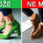 Kako odabrati boju obuće prema odeći i obrnuto