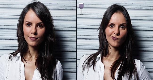Fotograf je pokazao kako izgledaju ljudi posle 1, 2 i 3 čaše vina