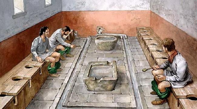 10 šokantnih činjenica o toaletima u Drevnom Rimu