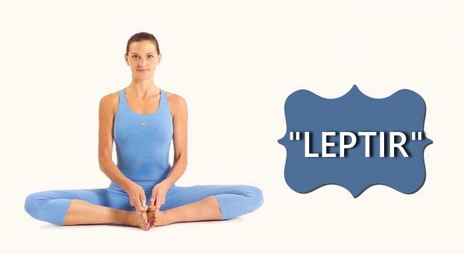 Leptir – jednostavna vežba za istezanje mišića i za zdravlje žene