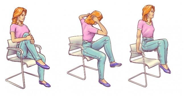 6 vežbi u sedećem položaju za ravan i zategnut stomak