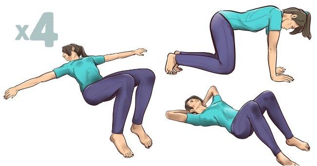 Jednominutne vežbe istezanja koje će vas poštedeti bolova u leđima