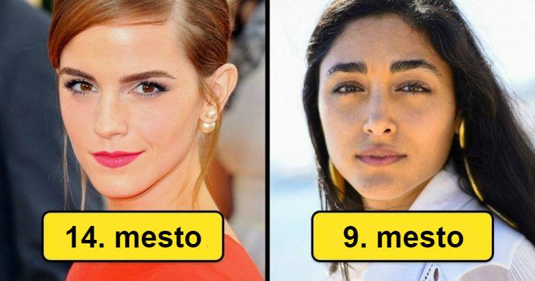 Korisnici interneta su rangirali sto najlepših žena sveta i evo ko je zauzeo prvih 15 mesta