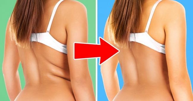 7 vežbi kojima ćete efikasno ukloniti nabore na leđima i bokovima