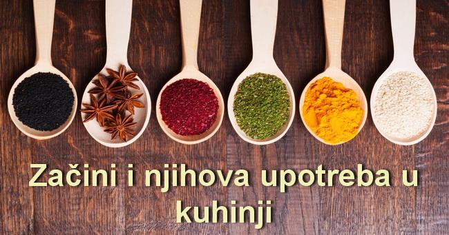 Kako i koje začine koristiti za ukusnija jela