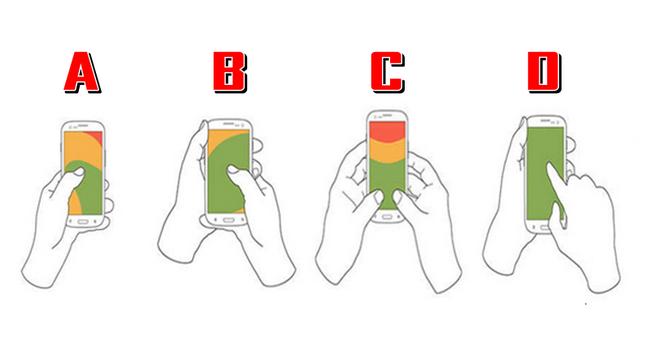 Način na koji držite telefon odražava vaš karakter.