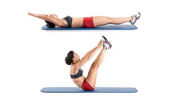 Vežba pregib pomaže da dobijete pločice na stomaku za samo 2-3 meseca